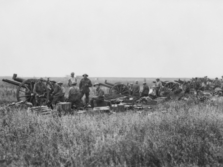 Artillery at the Battle of Amiens