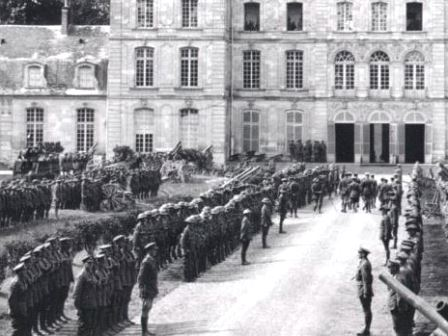 The combat veteran guard