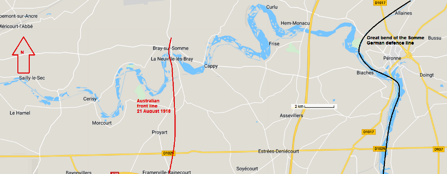 Great Bend in the Somme
