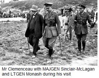 The Premier of France visits
