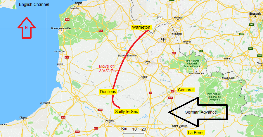 Map of the AO
