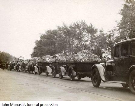 Monash's Funeral