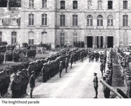 Knighthood Parade