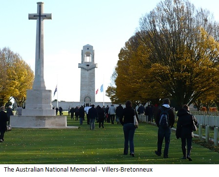 The Australian National Memorial France